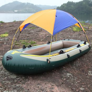 Shade tent sun shade and fishing boats on pinterest for Rubber boats for fishing
