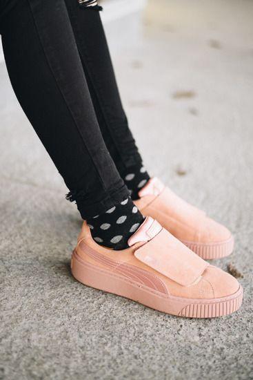 7d0a0b477f0b Chaussures femme baskets Puma Platform Strap Satin Ep 366009 01 ...