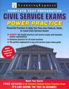 Civil service exams : power practice.