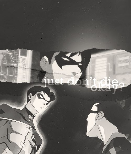 Dick Grayson, Tim Drake & Jason Todd ~ Young Justice GIF