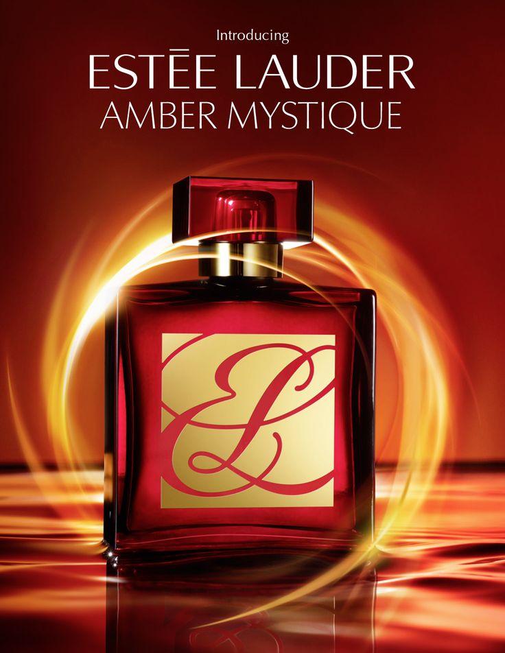 Kanji Ishii for Estee Lauder's Amber Mystique fragrance.