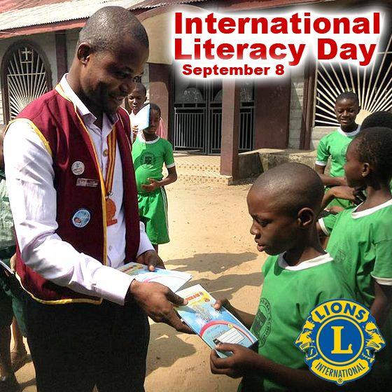 International Literacy Day - September 8 http://lion.ly/OujmJ