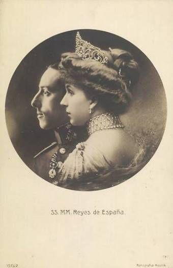 König Alfons XIII. und Königin Viktoria Eugenia von SPanien, King and Queen of Spain | Flickr - Photo Sharing!