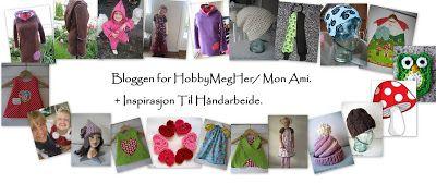 HobbyMegHer - Mon Ami!: Heklet hjerte + oppskrift!