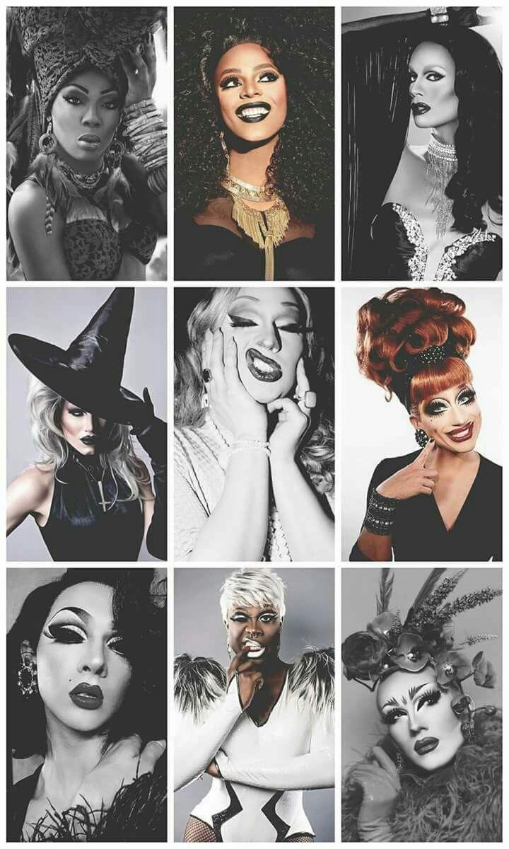 Drag Race Winners: BeBe Zahara Benet (@bebezahara), Tyra Sanchez (@tyrasanchez), Raja Gemini (@sutanamrull), Sharon Needles (@sharonneedlespgh), Jinkx Monsoon (@thejinkx), Bianca Del Rio (@thebiancadelrio), Violet Chachki (@violetchachki), Bob the Drag Queen (@bobthedragqueen), Sasha Velour (@sashavelour)