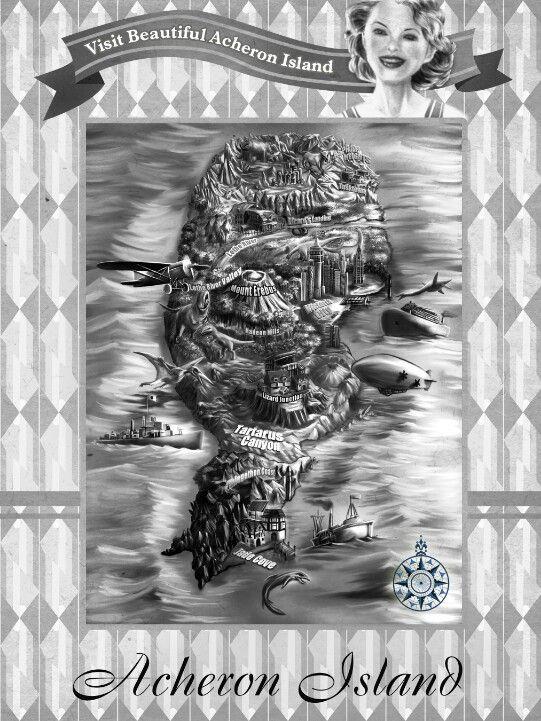 Acheron Island Map