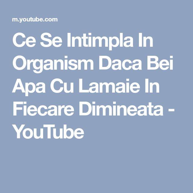 Ce Se Intimpla In Organism Daca Bei Apa Cu Lamaie In Fiecare Dimineata - YouTube