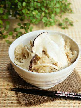 松茸ご飯 by るるおか [クックパッド] 簡単おいしいみんなのレシピが ...