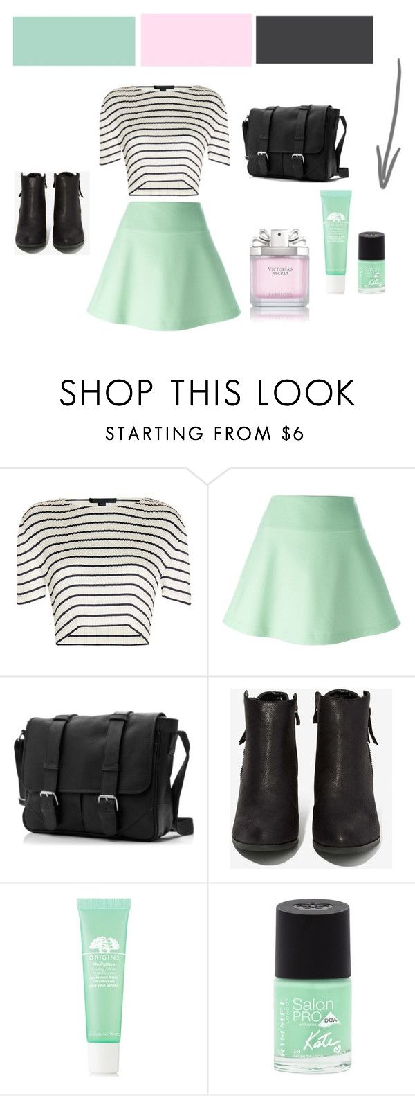 """Весенний лук"" by vetahay ❤ liked on Polyvore featuring Alexander Wang, RED Valentino, N.Y.L.A., Origins, Rimmel and Victoria's Secret"