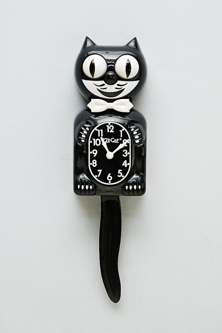 Best 25 cat clock ideas on pinterest kit kat clock go to clock kit cat clock the first time i saw one of these was in a amipublicfo Gallery