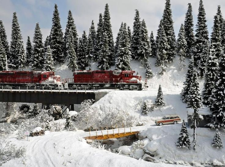 The Snow Diorama | Model Railroad Hobbyist magazine | Having fun with model trains | Instant access to model railway resources without barri...