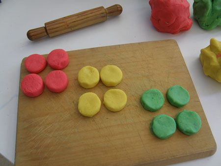 play-dough recipes: Camps Ideas, Education Ideas, Math Ideas, Classroom Ideas Math, Plays Dough Recipe, Playdough Recipe, Playdough Recipies, Teaching Fractions, Fractions United