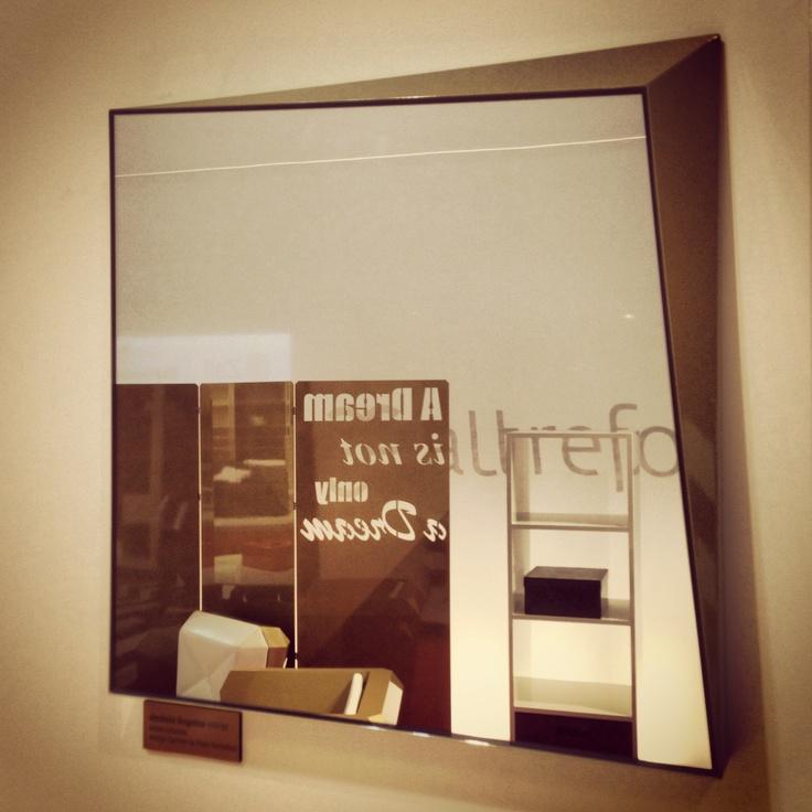 #lingotto mirror, design Garilab by Piter Perbellini for #altreforme @iSaloni 2013  #interior #home #decor #homedecor #furniture #aluminium
