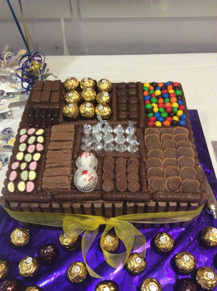 Rowan's 21st Chocolate Box Cake