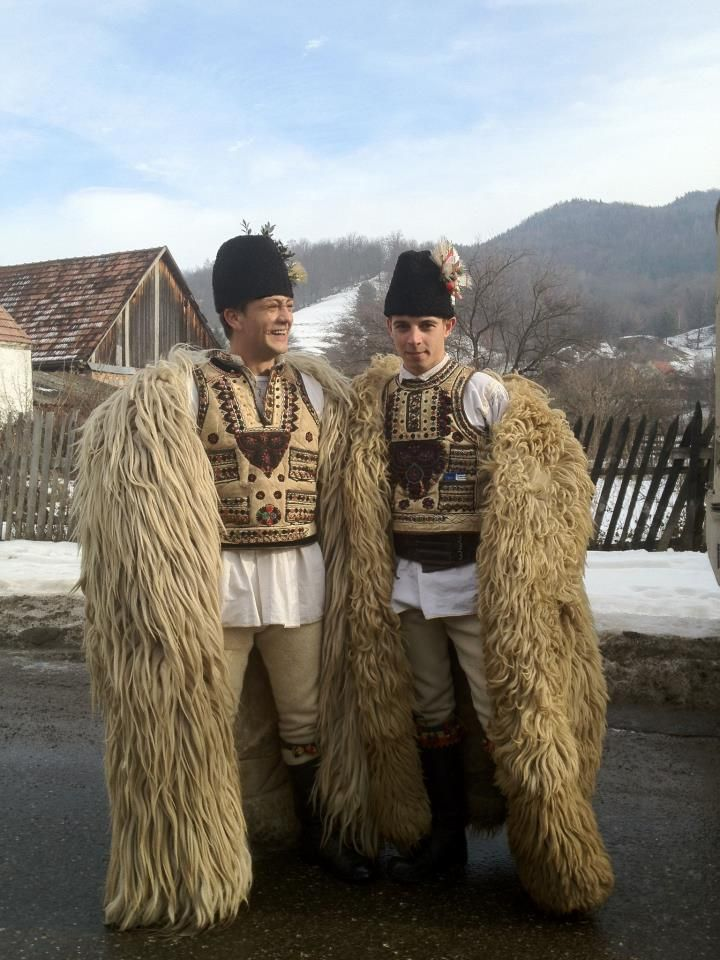 Transylvania, south east In traditional clothes...