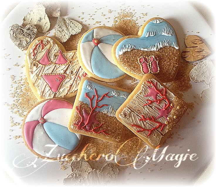 Summer cookies... Love it!