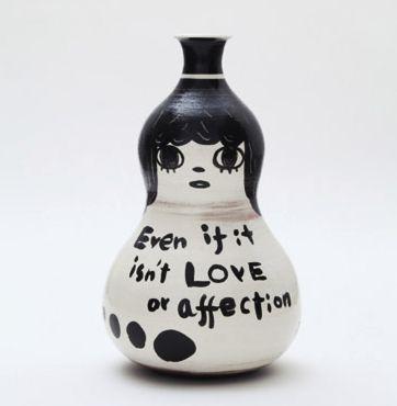"""killyohji:     Yoshitomo Nara, """"Ceramic Works""""..."""