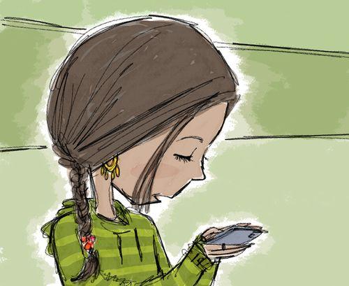 Quiet Texting Girl (3)BURRIS copy.jpg