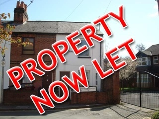 Two bedroom house, Montague Street, Reading.  Let within one week of advertising