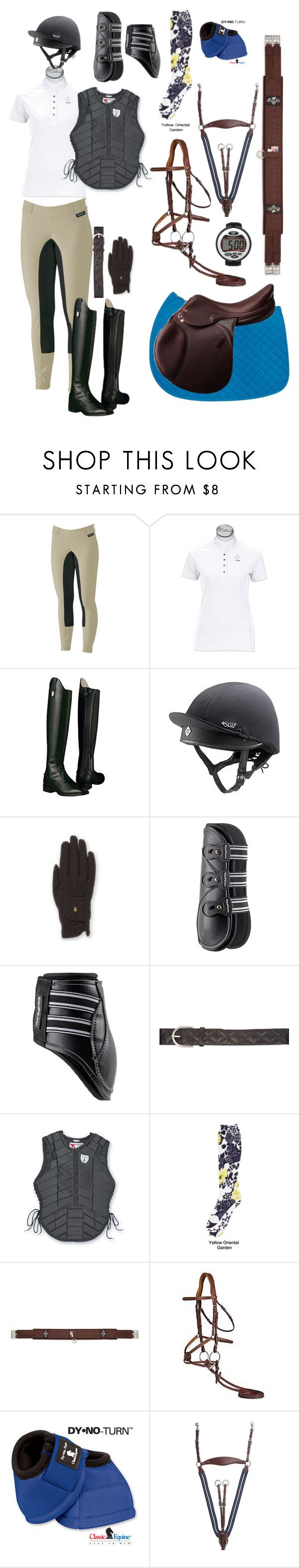 Cross country 2 by karleneduv on Polyvore featuring Ariat, Roeckl and country
