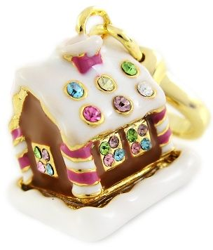juicy couture 2010 gingerbread man charm | On Sale! 28% Off Juicy Couture Gingerbread House Charm