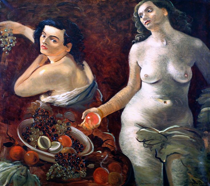 André Derain. 1880-1954. Paris. Deux femmes nues et Nature morte vers 1935. Troyes  André Derain. From 1880 to 1954. Paris. Two naked women and Still Life 1935. Troyes