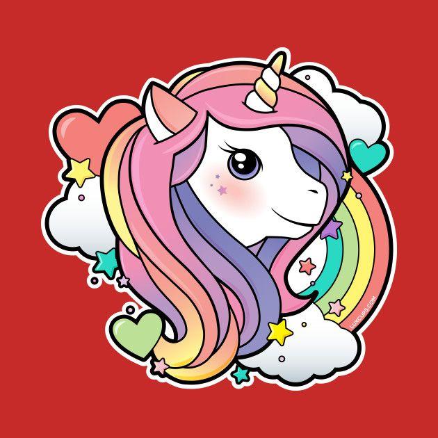 Magical Rainbow Unicorn By Luxcupa Unicorn Drawing Unicorn