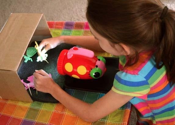 Shadow Puppet Theatre. Kids fun for a Rainy Day!