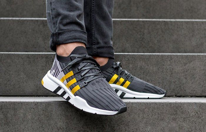 adidas EQT Support Mid ADV Primeknit Shoes Black | adidas US