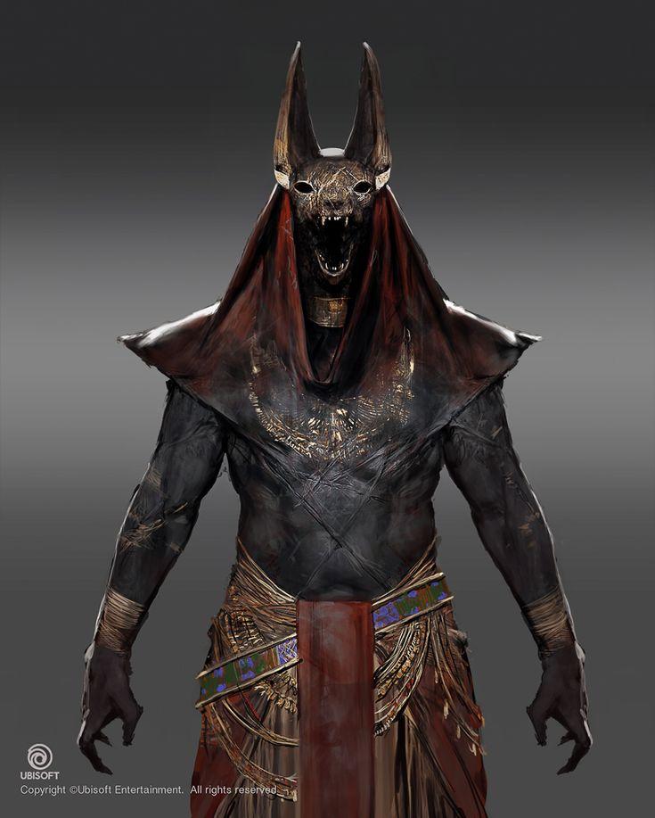 Assassin's Creed: Origins character concept art