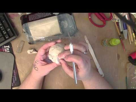 Doll making with Paperclay - YouTube