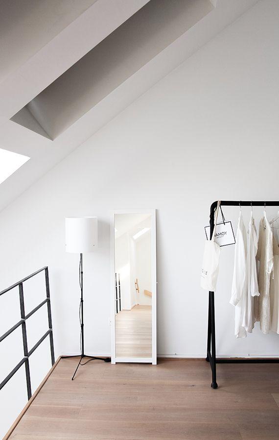 Casual loft in Antwerp via Style My Day