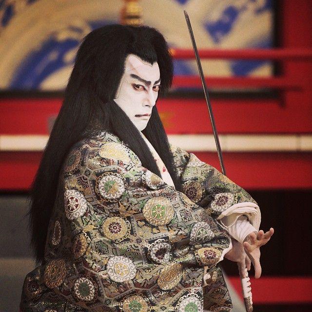 Ebizo Ichikawa XI 市川海老蔵 Shin Usuyuki Monogatari 新薄雪物語 ©Kishin Shinoyama/篠山紀信