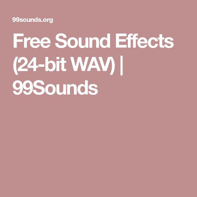 Free Sound Effects (24-bit WAV) | 99Sounds