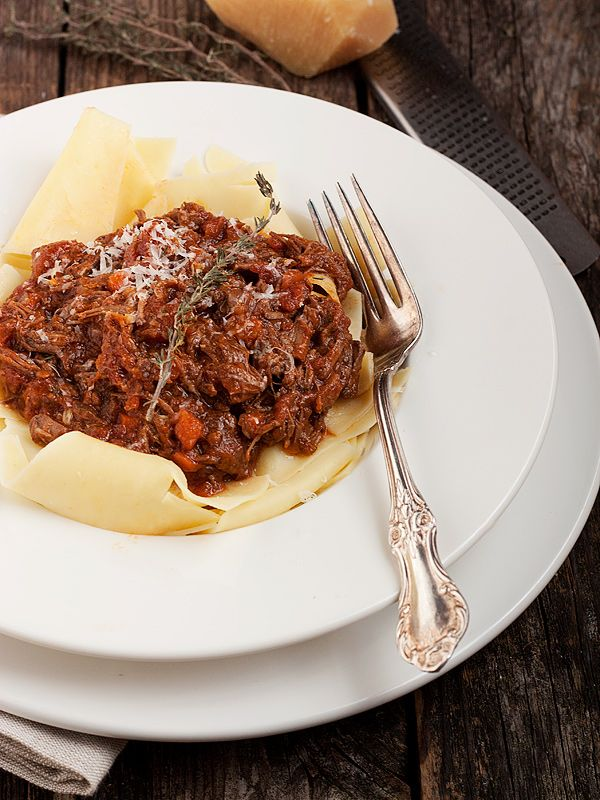 Classic Beef Ragu Pasta Sauce | Seasons and Suppers
