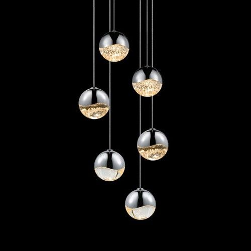 110 best modern lighting images on pinterest modern lighting grapes by sonneman led round multipoint pendant mozeypictures Images