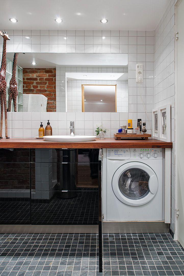 49 bästa bilderna om Badrum på Pinterest Minimalistisk lägenhet, Hoar och Stockholm