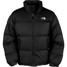 North Face Mens Down Jacket All Black Outlet