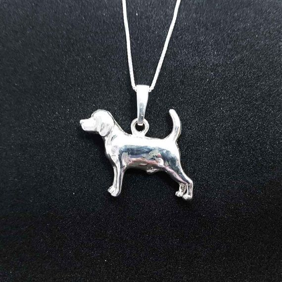 Check out Beagle dog jewelry pendant -Sterling Silver-Personalized Pet Necklace-Dog lover gift-Custom Dog Necklace-Pet Memorial Gift-Dog Mom Gift–Pet on jewelledfriend