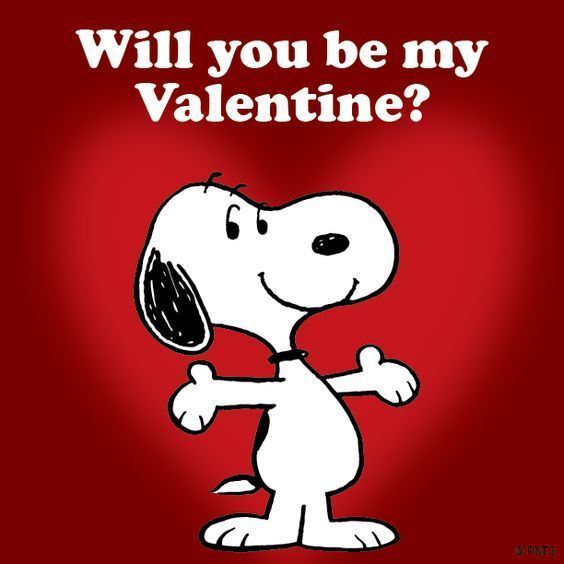 Snoopy - Will You Be My Valentines?