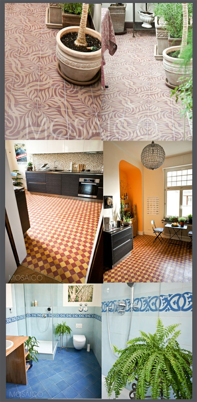 30 best Zementfliesen-Projekte von Mosáico / Tiles / Carreaux ...