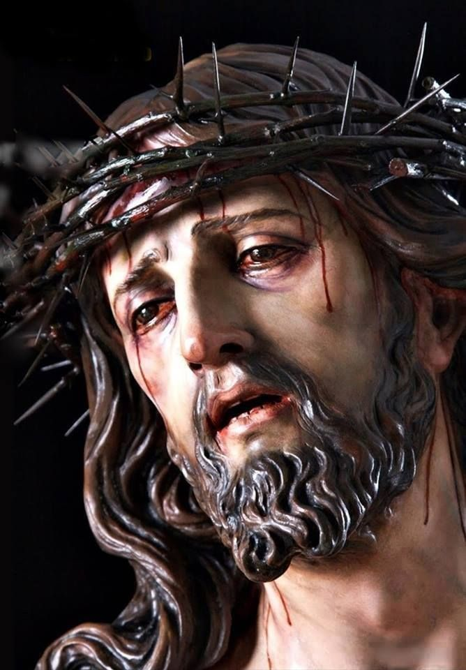 "When I deliberately choose to sin, I add to Christ's pain on the cross. ... ""O sacred Head, now wounded, with grief and shame weighed down, Now scornfully surrounded with thorns, Thine only crown; How pale Thou art with anguish, with sore abuse and scorn! How does that visage languish, which once was bright as morn!"" - O Sacred Head Now Wounded, J.W. Alexander"