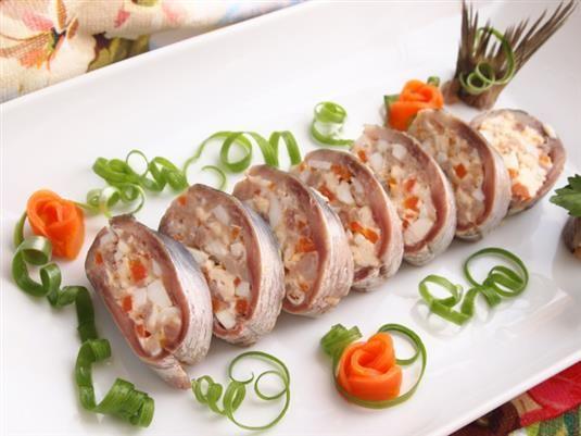 Фаршированная сельдь - пошаговый кулинарный фото-рецепт