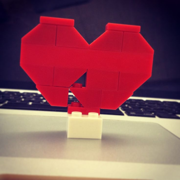 Lego heart.