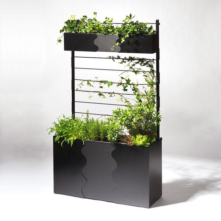 Urban+Garden+Cultivation+Box,+Black,+SMD+Design