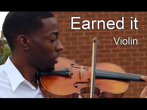 The Weeknd-Earned It violin cover