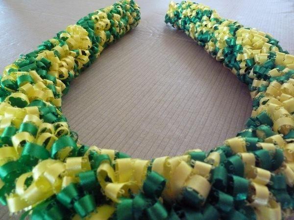 DIY Tutorial: Leis / Ribbon Lei - Bead&Cord