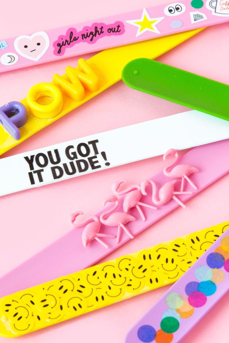 Aww, Sam: DIY 90's Slap Bracelets