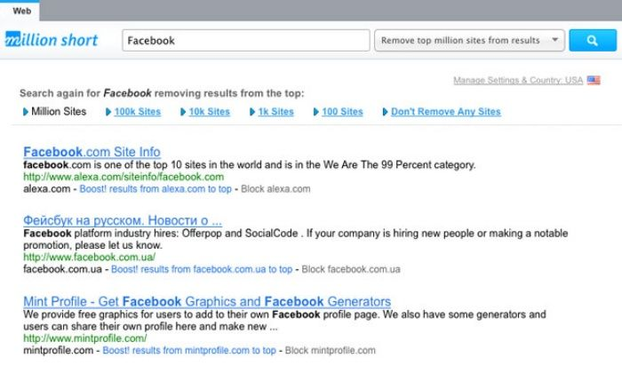 'Million Short': An Unconventional Search Engine That Ignores Popular Sites In Search Results