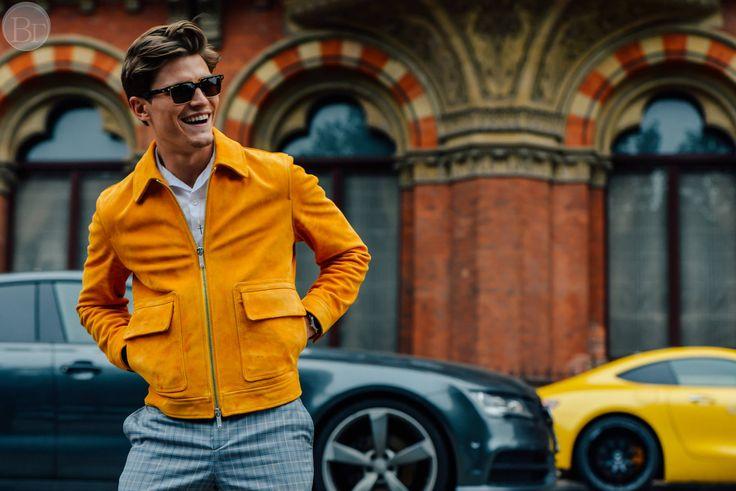 Street style Томми Тон c мужской недели мод. #ТоммиТон #STREETSTYLE